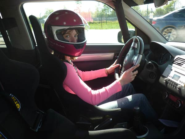 Laura Keane drives the Fast and Furious Nürburgring