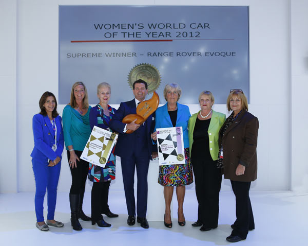 Women in the Driver Seat for World Award