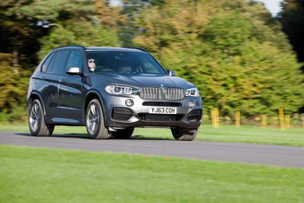 First Drive – BMW X5 M50d