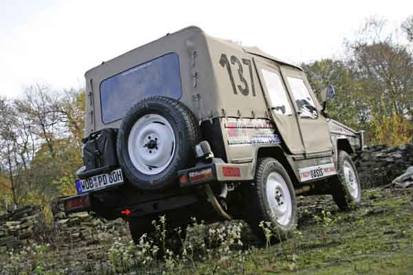 The Iltis from the Volkswagen Classic collection