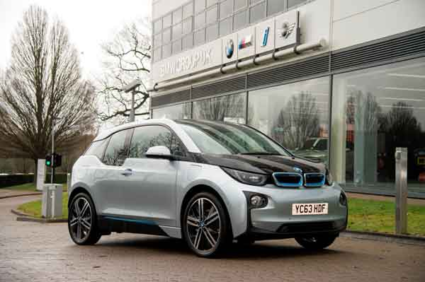 The i3 was designed from the ground up to be powered by an electric drive system