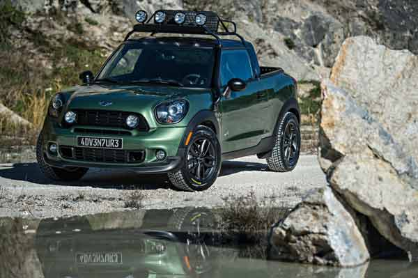 Mini Paceman Adventure Offroad first look