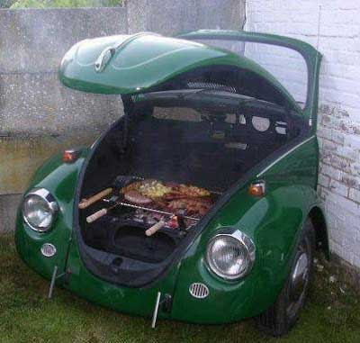 If only all cars could be recycled as creatively as this one
