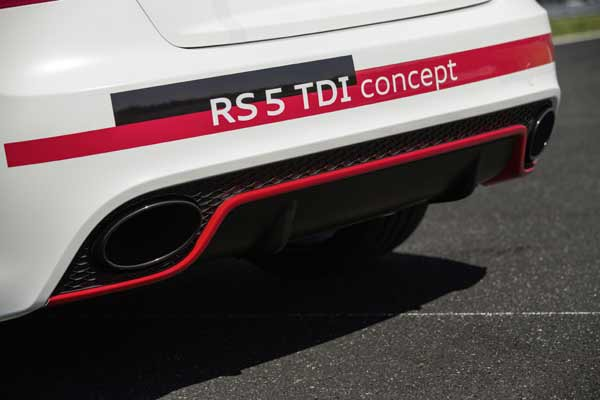 First Drive: Audi RS5 TDI Concept