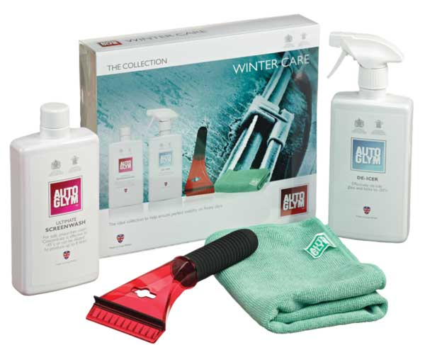 WIN – An Autoglym Winter Car Kit