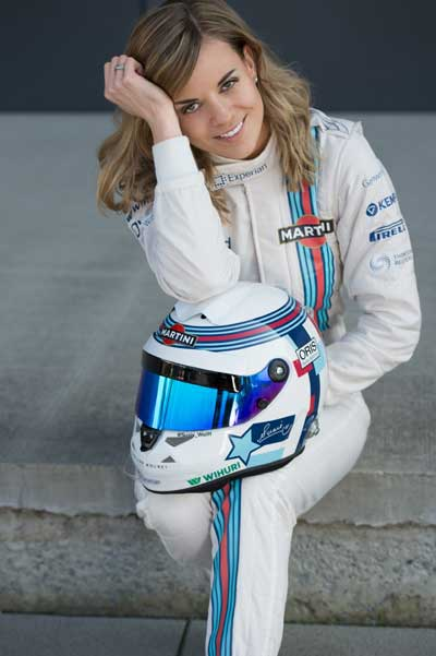 Susie Wolff the fastest women on earth