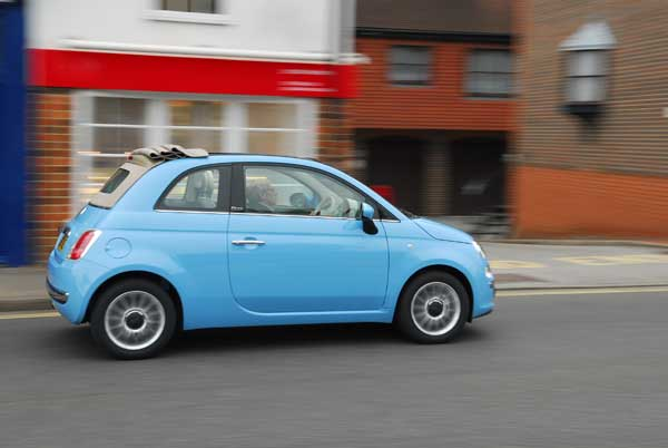 Fiat 500 Convertible S