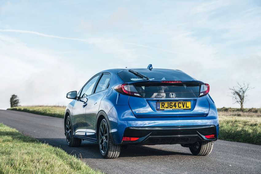 The new Civic comes with price reduction of up to £1,620
