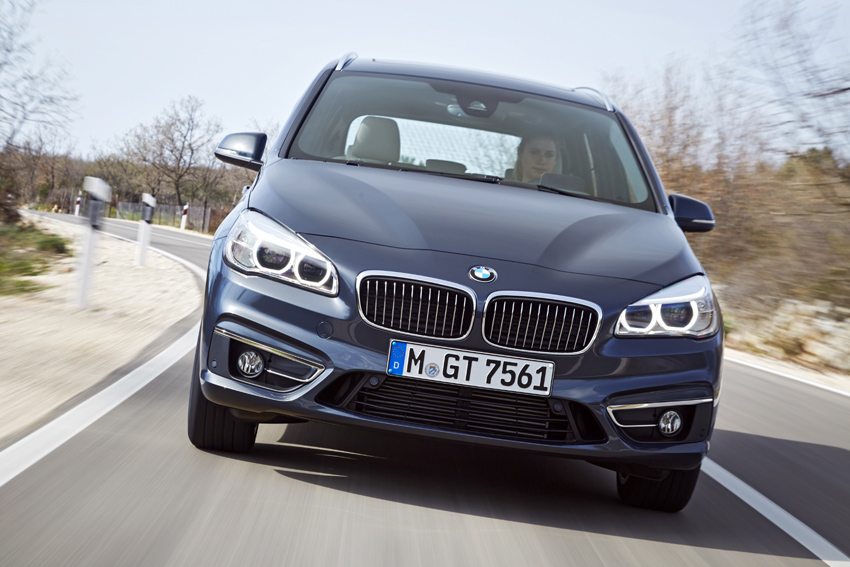 The new BMW 2 Series Gran Tourer is available with a choice of five turbocharged petrol and diesel engines