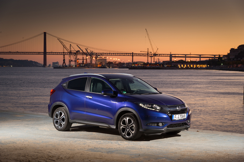 The  All new Honda  HR-V will arrive in showrooms in late August