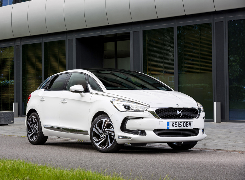 The New DS 5 is defined by its avant-garde styling