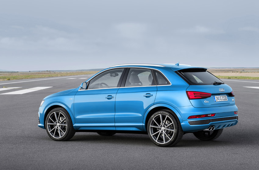 The 1.4-litre TFSI petrol engine with Cylinder-on-Demand technology makes its Q3 debut
