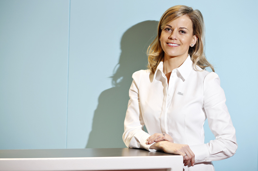 Susie Wolff and the MSA launch Dare To Be Different
