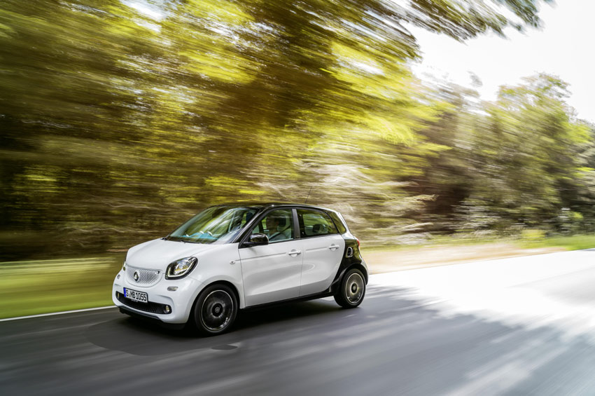 The new smart models have everything it takes to manoeuvre elegantly into any parking space