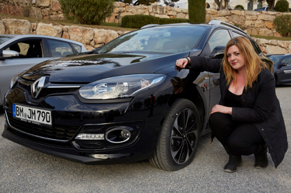 Suzanne Keane gets to grips with the new DriveGuard tyres