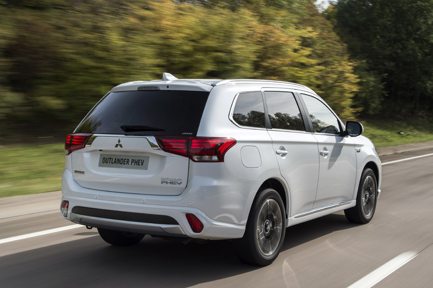 The Outlander PHEV is the UK's favourite choice of plug-in vehicle, with Mitsubishi having sold more than 15,000 of them since it was launched