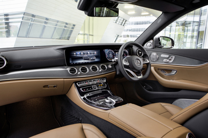 The new E-Class is refined, efficient and the quality is particularly impressive