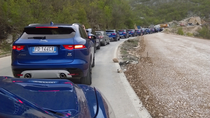 Rush hour in Montenegro