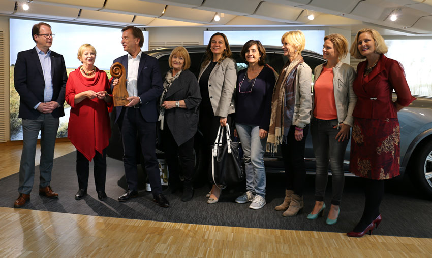 Judges in Women's World Car of the Year present in Sweden for Volvo's unique event