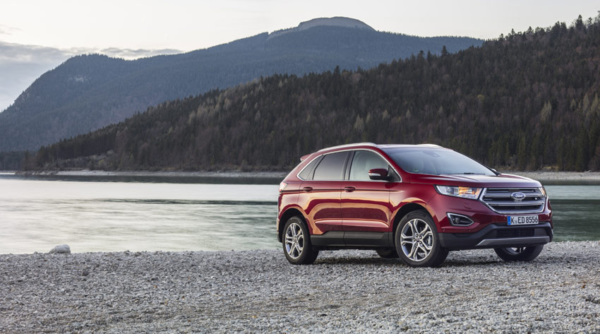 The all-new Ford Edge is the third chapter in Ford's SUV expansion plan.