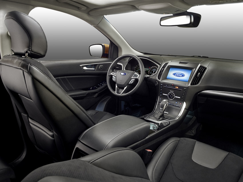 Ford Edge sets new standards in its class for interior space