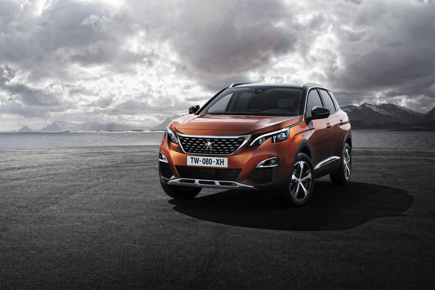 The new PEUGEOT 3008 SUV