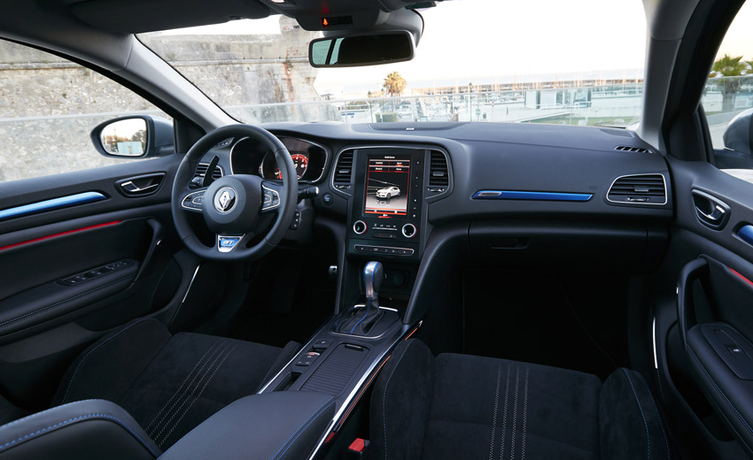 The GT features the unique-in-class 4Control all-wheel steering system