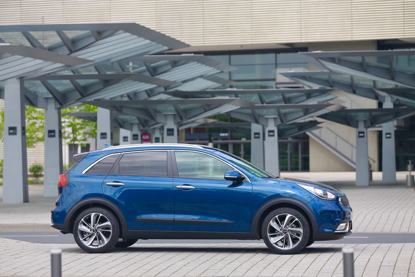 All-new Kia Niro Hybrid Crossover