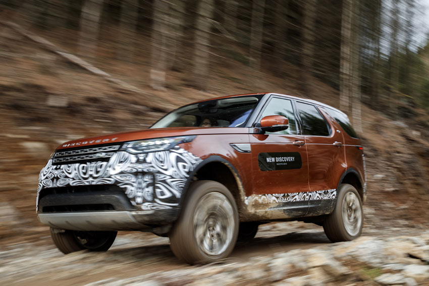 New Land Rover Discovery Prototype