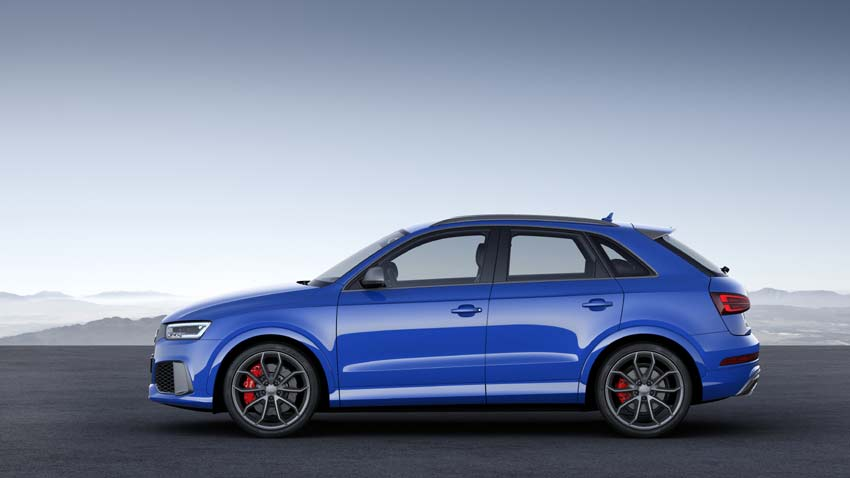 Audi RS Q3 Performance with 367PS and 465Nm slots in above 340PS RS Q3