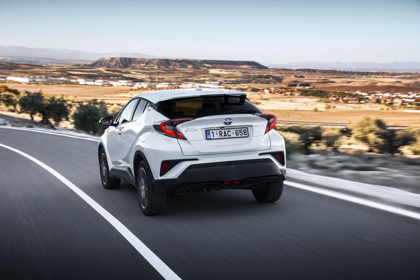 The radically styled C-HR