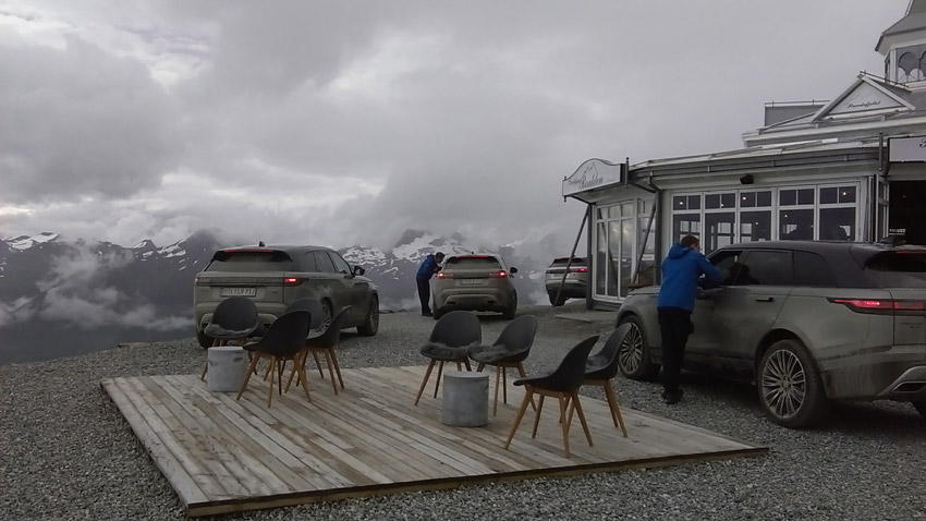 Lunch stop in the clouds – Stranda Ski Resort, Norway