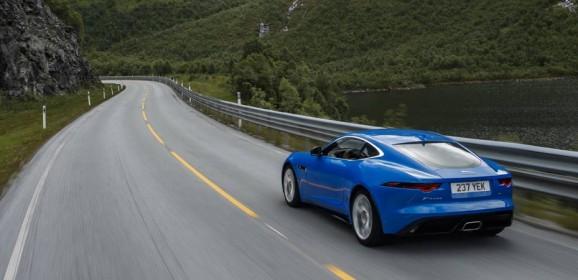 Jaguar F-Type 4-cylinder Ingenium petrol engine