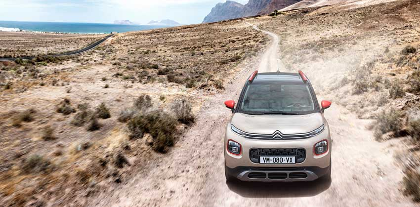 The Citroën C3 Aircross is available now, with prices starting from £13,995 .