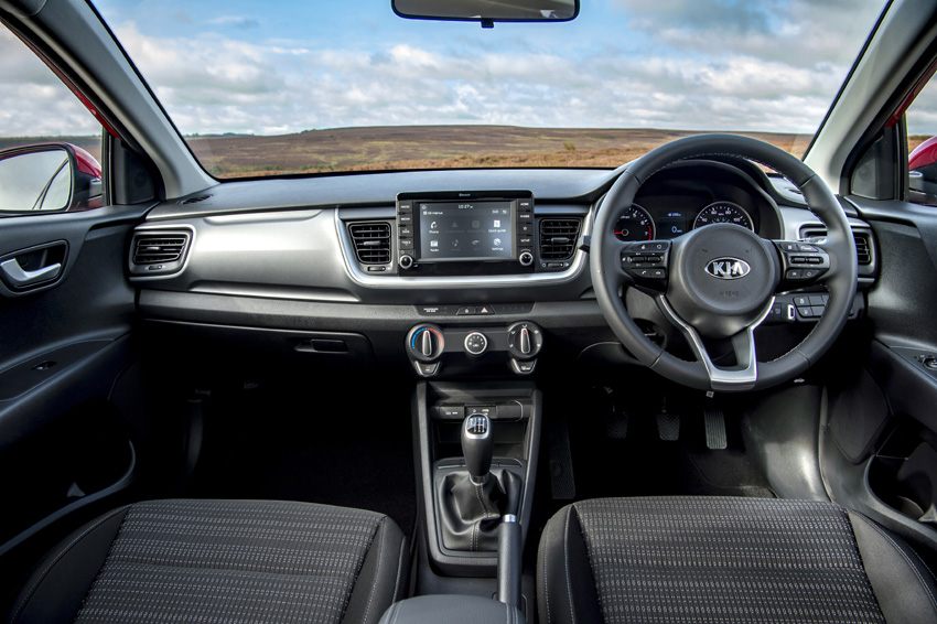 Inside there is a suite of connectivity and electronic driver assistance system