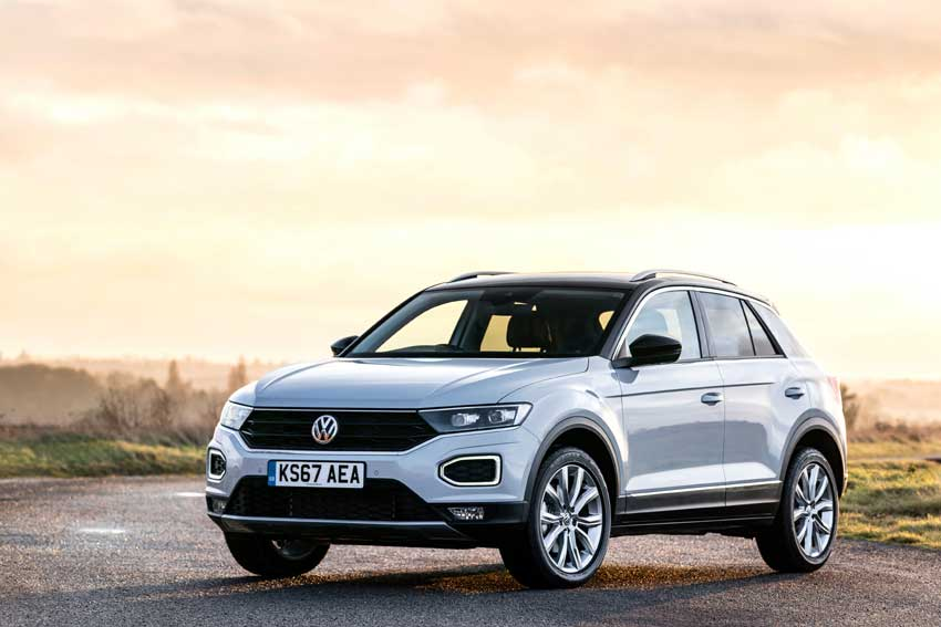 The best-selling T-Roc in the UK is expected to the be the 1.0 TSI 115 PS SE 6spd manual