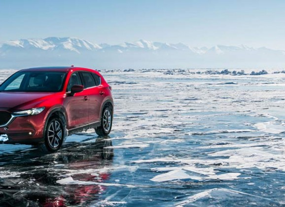 How I crossed the world's largest lake…by car